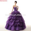 Falda personalizada de encaje de sirena Robe De Bride Vestido de novia