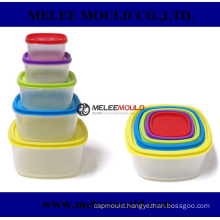 Stackable Distinguishable Plastic Container Box Mold