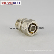 Brass Compression Fitting Male Straight