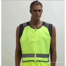 300d Oxford Waterproof Reflective Vest for Cycling, Running, with En