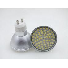 Nouveau projecteur LED GU10 3.5W 60PCS 3528 SMD Dimmable