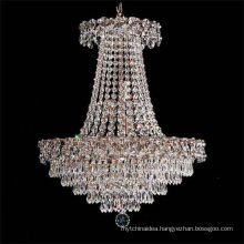 2017 Decoration Designs Modern Top Quality Hanging Crystal Chandelier with 9 led lights