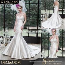 OEM fábrica vestido de cetim floral quimono vestir vestidos de noiva de cor bronze