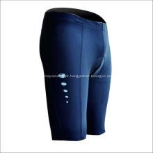 Shorts esportivos azuis elegantes adequados para andar de bicicleta