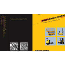 Certificado CE y ISO Soporte eléctrico Transpaleta con servicios postventa