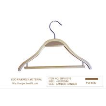 15′′ bambou cintre pour magasin de vêtements