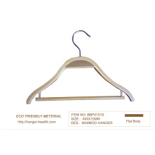 15′′ Bamboo Hanger for Clothes Store