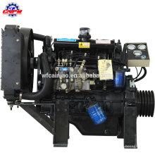 Motor diesel marinho do cilindro 495CD do motor diesel 4