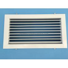 HVAC Systems Parrilla de aluminio de una sola deflexión Rejilla de aire acondicionado