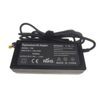 Adaptador do carregador da CA do portátil de 19V 3.95A para toshiba