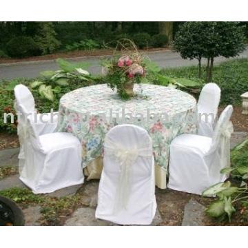 housse de chaise de mariage, housse de chaise de banquet