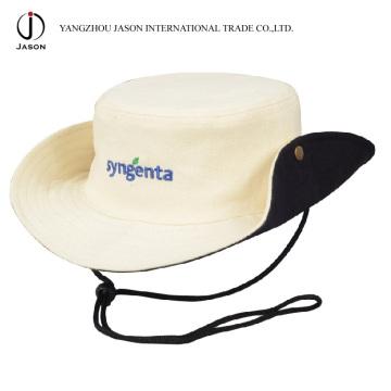 Chapeau de cowboy Chapeau de seau de cowboy Chapeau de chasseur Chasseur Chapeau de seau avec le cordon et le bouchon Chapeau de safari Chapeau de Panama