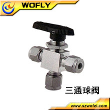 Stainless steel mini ball valve angle ball chlorine gas valve