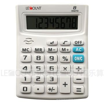 """12-stelliger Display-Tischrechner mit """"Bi-Bi"""" Sprech-Sound (LC240S)"""