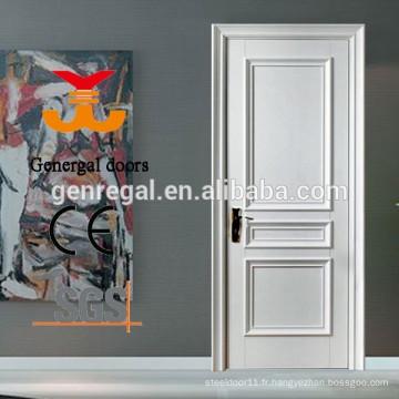 Portes intérieures en bois laqué blanc