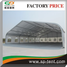 Hot sale Songpin outdoor curved party marquee event wedding tents for 250-300 people