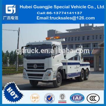 Трактор-тягач, крушения грузовиков, большая Емкость 20 тонн эвакуатор, Новый dongfeng вредитель грузовик буксировки трактора аварию грузовик, большой емкости 20 тонн эвакуатор, Новый dongfeng вредитель грузовик