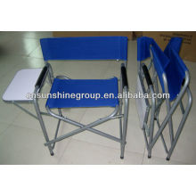 sport director chair with side tea table