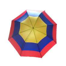 Colorful Printing Straight Umbrella (JYSU-01)