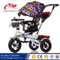 wholesale baby smart trike 3 wheels/push baby lexus trike with push handle/cheap baby tricycle trike