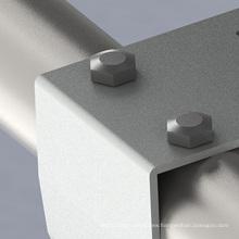 Y-shape 1 megawatt off-grid double carport solar PV system