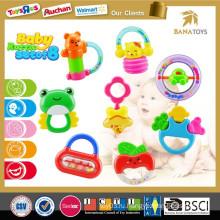 Шаньтоу Chenghai ICTI ребенок игрушка висит колокол пластиковые кольца ребенок погремушка