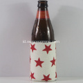 Hot-selling Neoprene Star Logo Beer Cooler DIY