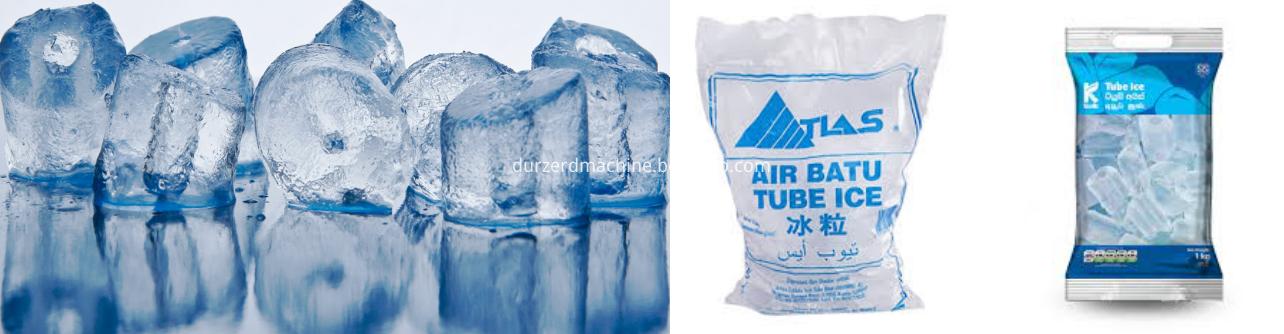 ice cube packing machine
