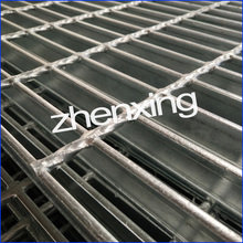 Galvanizado Heavy Duty Soldado I Bar Grating