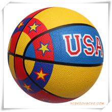 Förderung Basketball in verschiedenen Größen, kundenspezifische Logos werden akzeptiert (OS24004)