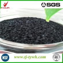 Planta de producción de carbón activado granular