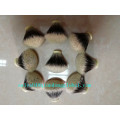 Fan Shape Handmade Finest Badger Hair Knots