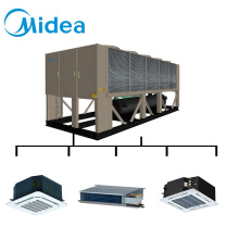 Midea Ceiling Exposed Duct Type Fan Coil Unit For Hotel
