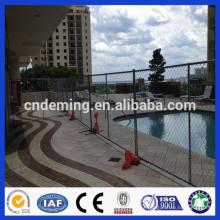 Venta caliente de la DM caliente-sumergió la cerca galvanizada de la piscina