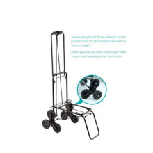 Three Wheeled Luggage Cart
