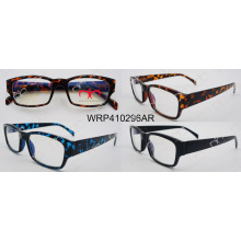 Hot Selling Fashion Plastic Eyewear Unisex Reading Glasses (000001AR)