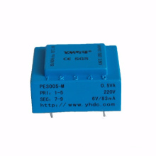 AC 220 volt to AC 12 volt mini power transformer EI
