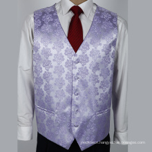 New Product Wholesale Formal Men's Waistcoat Silk