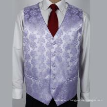Новый продукт Оптовая формальные мужская жилет шелк