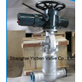 on off Motor Operated Welding Gate Valve
