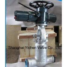 d'arrêt moteur actionné soudure vanne