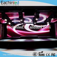 Salle de concert décoration intérieure p3.9 SMD 3in1 led mur vidéo en vente
