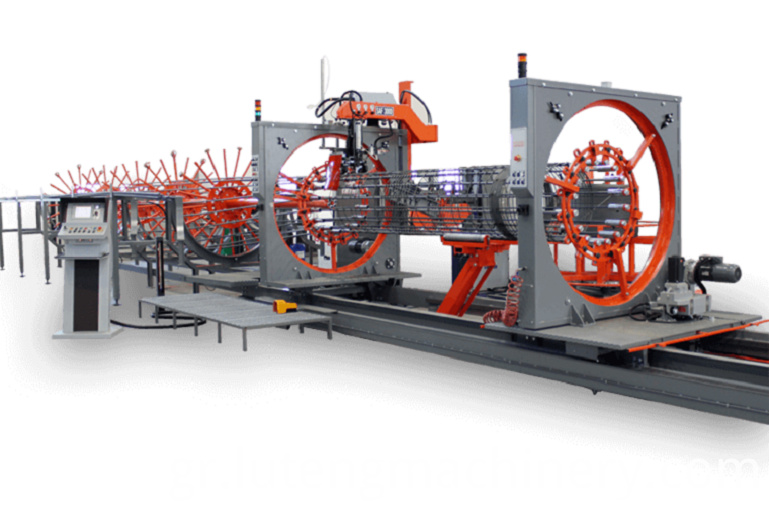Wire Cage Making Machine