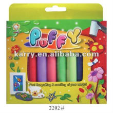 10 colors 3D puffy sticker
