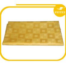 Золотой Цвет Базен Риш высокого качества 10 ярдов /мешок Гвинея одежды ткани 100% хлопок ткань для свадьба FEITEX