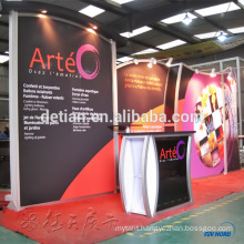 China economical Aluminum profile tension fabric display stand trade show exhibition display booth China economical Aluminum profile tension fabric display stand trade show exhibition display booth