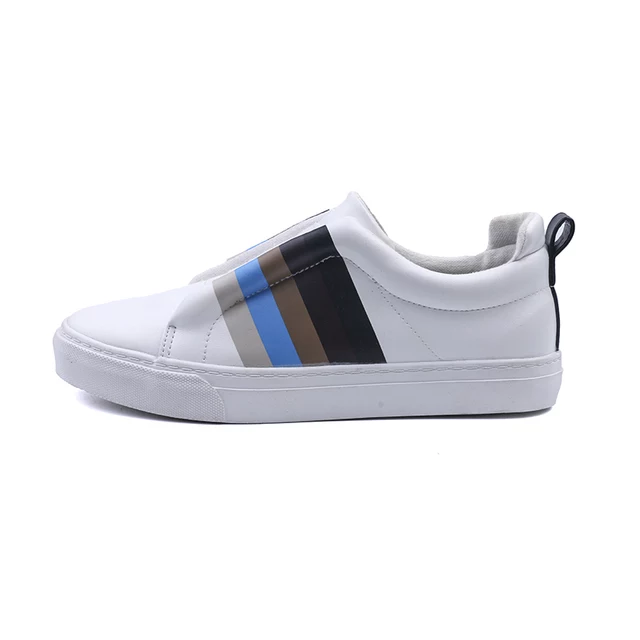 black and white design shoes