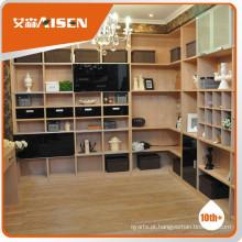Vários modelos de estante de design elegante