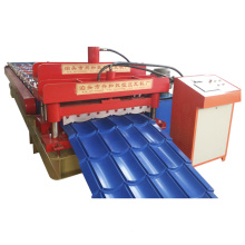 Manufacture Glazed Metal Roof Tile Roll Forming Machine (XH828)