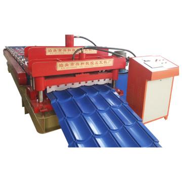 Máquina formadora de placas para techos tipo Widen 828 para tejas esmaltadas